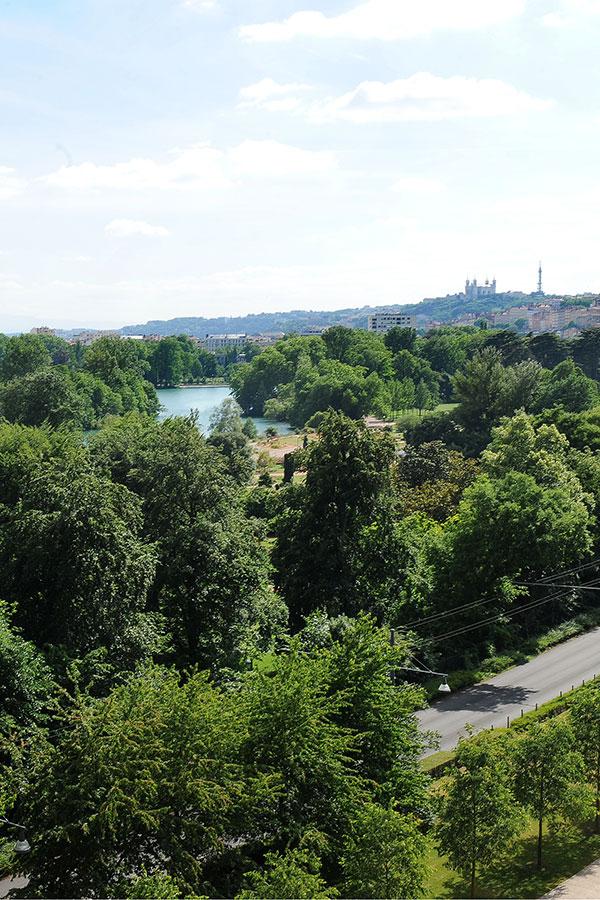 Parc Tete D Or Lyon